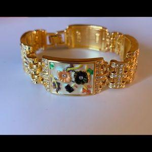 Camrose & Kross JBK Spring Blossom Enamel Bracelet